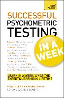 Successful Psychometric Testing in a...