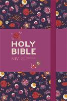 NIV Pocket Floral Notebook Bible: New...