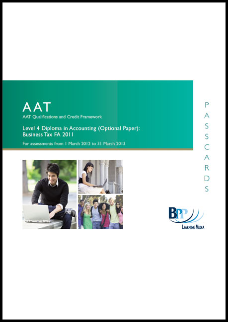 AAT - Business Tax FA2011: Passcard