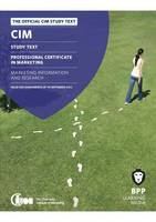 CIM - 3 Marketing Information and...