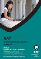 AAT - Work Effectively in Accounting...