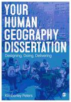 Your Human Geography Dissertation:...
