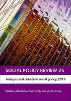 Social Policy Review 25: Analysis and...
