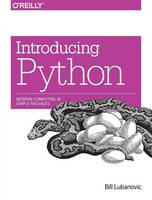 Introducing Python: Modern Computing...