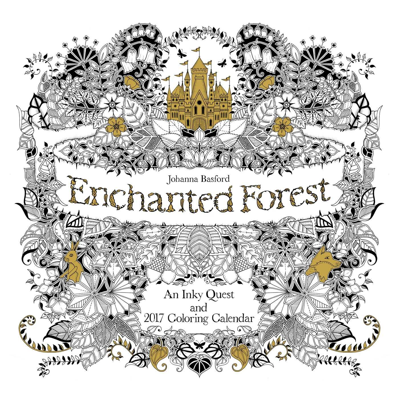 Enchanted Forest Wall Calendar 2017