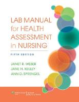 Lab Manual for Health Assessment in...