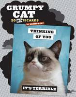 Grumpy Cat Notecards: 20 Notecards &...