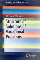 Structure of Solutions of Variational...