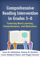 Comprehensive Reading Intervention in...