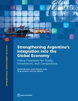 Strengthening Argentina's integration...