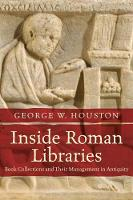 Inside Roman Libraries: Book...