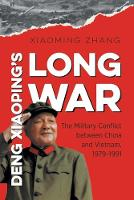 Deng Xiaoping's Long War: The ...