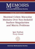 Maximal Cohen-Macaulay Modules Over...