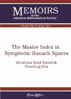 The Maslov Index in Symplectic Banach...