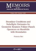 Boundary Conditions and Subelliptic...