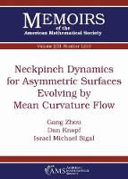 Neckpinch Dynamics for Asymmetric...