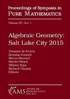 Algebraic Geometry Salt Lake City ...