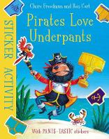 Pirates Love Underpants: Sticker...