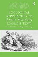Ecological Approaches to Early Modern...