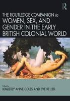Routledge Companion to Women, Sex, ...