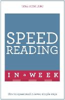 Speed Reading in a Week: How to Speed...