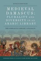 Medieval Damascus: Plurality and...