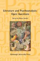 Literature and Psychoanalysis: Open...
