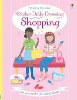 Sticker Dolly Dressing Shopping