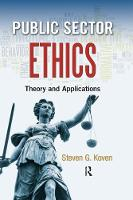 Public Sector Ethics: Theory and...