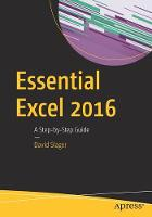 Essential Excel 2016: A Step-by-Step...