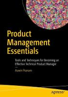 Product Management Essentials: Tools...