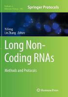 Long Non-Coding Rnas: Methods and...