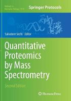 Quantitative Proteomics by Mass...