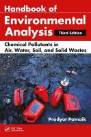 Handbook of Environmental Analysis:...