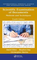 Scientific Examination of Documents:...