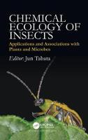Chemical Ecology of Insects:...