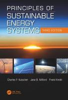 Principles of Sustainable Energy...
