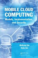 Mobile Cloud Computing: Models,...