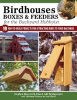 Birdhouses Boxes and Feeders For the...