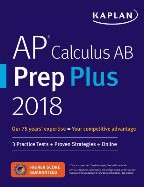 AP Calculus AB Prep Plus 2018-2019: 3...
