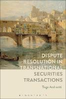 Dispute Resolution in Transnational...