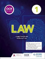 OCR AS/A Level Law: Book 1