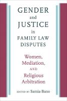 Gender and Justice in Family Law...