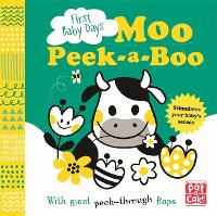 Moo Peek-a-Boo: A board book with...