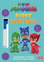 PJ Masks: First Writing Wipe Clean:...