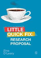 Research Proposal: Little Quick Fix