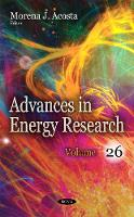 Advances in Energy Research: Volume 26