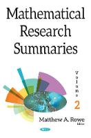 Mathematical Research Summaries (with...