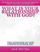 What Is Your Relationship with God?