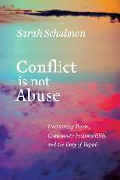 Conflict is Not Abuse: Overstating...